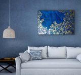 Obraz Blue Gold