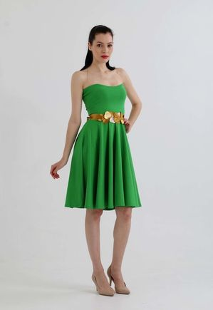 Šaty Green heart