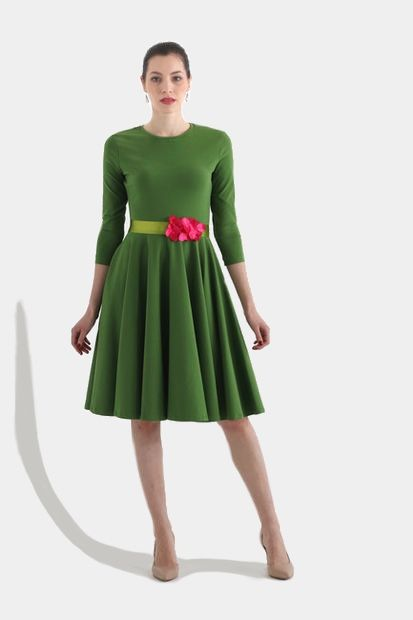 Šaty Green passion