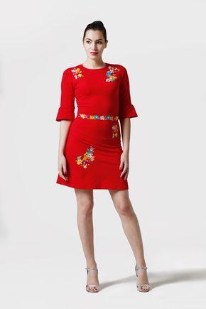 Šaty červené Lola
