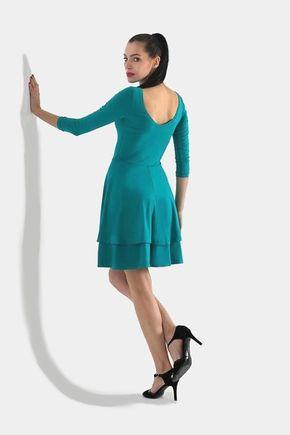 Šaty Dance tyrkysové