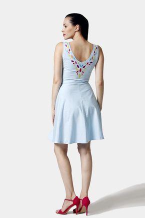 Šaty Jewel farebné