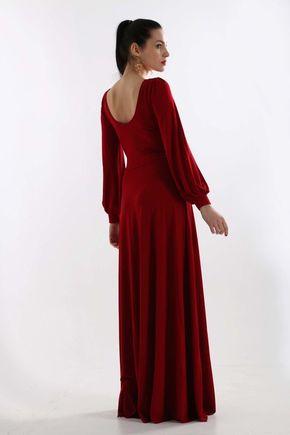Šaty Rose bordové