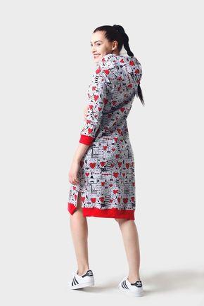 Teplákové šaty Mica