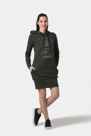 Teplákové šaty Namasté