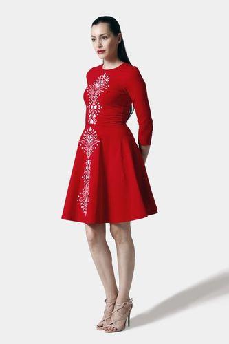 Šaty červené Lovely