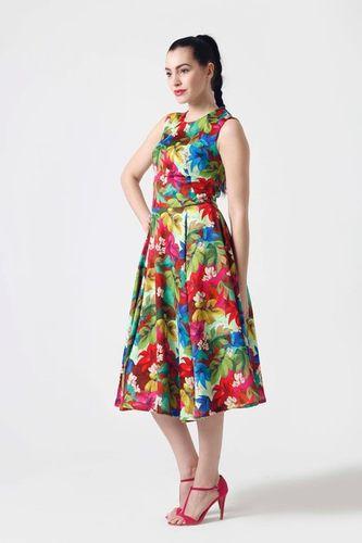 Šaty Midi farebné