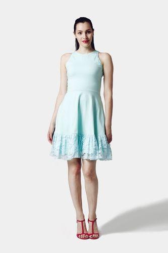Šaty Mint s krajkou